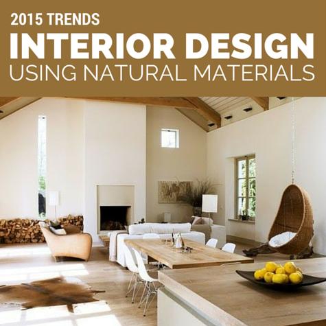 Interior Design Using Natural Materials Zespoke