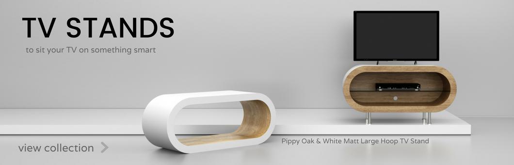 Funky Hoop Coffee Tables & Retro Hoop TV Stands Custom Made in UK ...