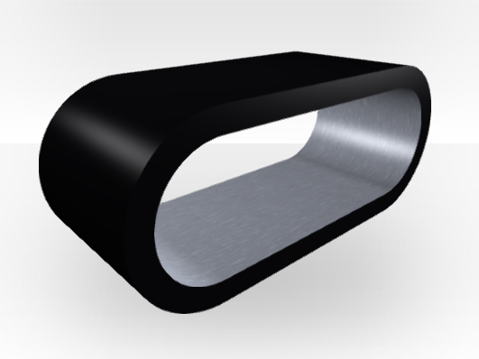 table basse ext rieure noire cercle extra large. Black Bedroom Furniture Sets. Home Design Ideas