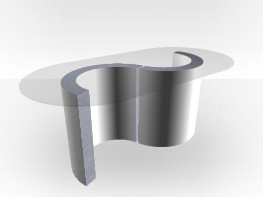 table basse ext rieure blanc le monaco glass int rieur. Black Bedroom Furniture Sets. Home Design Ideas
