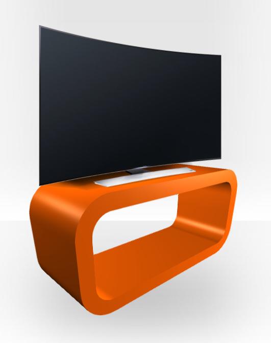 custom tv stands. Customise It Orange Gloss TV Stand \u2013 Hooptangle Custom Tv Stands